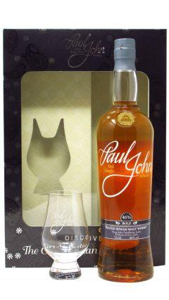 Paul John - Bold Single Malt & Glencairn Glass Gift Pack Whisky