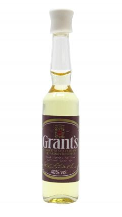 William Grant's - World's Smallest Bottle Of Whisky Whisky