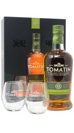Tomatin - Single Malt & Glass Gift Pack 12 year old Whisky