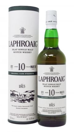 Laphroaig - Cask Strength Batch 011 10 year old Whisky