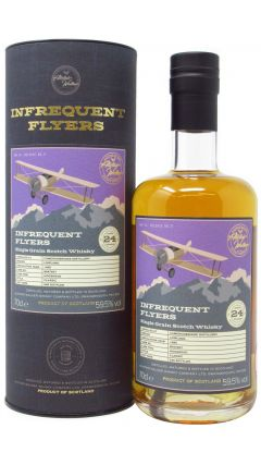 Cameronbridge - Infrequent Flyers - Single Cask Batch #1 - 1995 24 year old Whisky