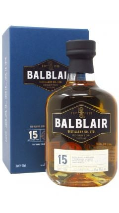 Balblair - Highland Single Malt Scotch 15 year old Whisky