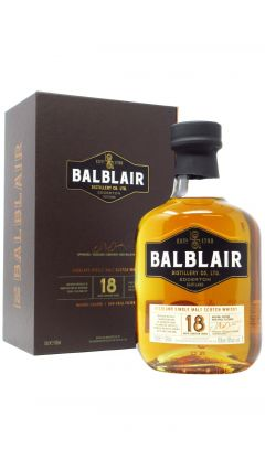 Balblair - Highland Single Malt Scotch 18 year old Whisky