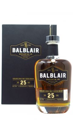 Balblair - Highland Single Malt Scotch 25 year old Whisky