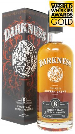 Darkness - Speyside Single Malt 8 year old Whisky