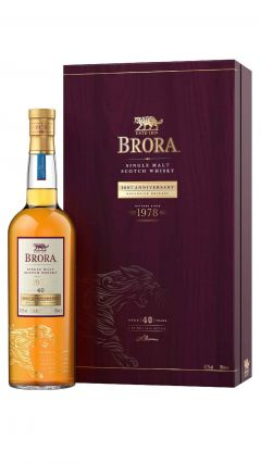 Brora (silent) - 200th Annivesary  - 1978 40 year old Whisky