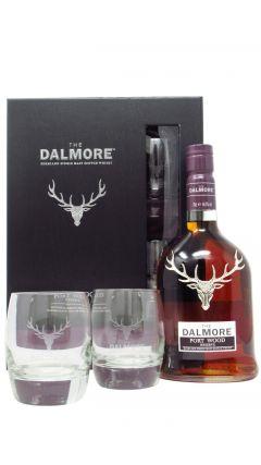 Dalmore - Port Wood Reserve Glasses Gift Pack Whisky