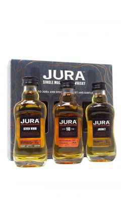 Jura - 3 x 5cl Miniature Gift Set Whisky