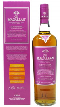 Macallan - Edition No. 5 - Pantone  Whisky