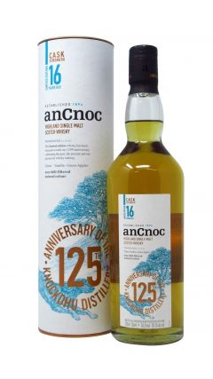 anCnoc - 125th Anniversary Cask Strength 16 year old Whisky