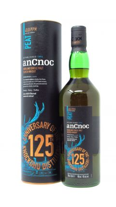 anCnoc - 125th Anniversary Peat Whisky