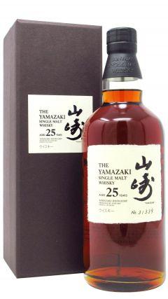 Yamazaki - Japanese Single Malt - Limited Release 25 year old Whisky