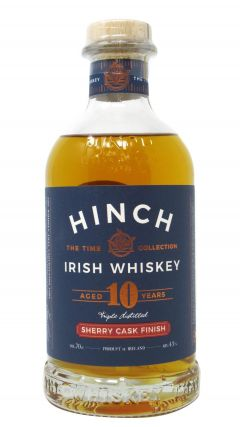 Hinch - Sherry Cask Finish -  Irish Blended 10 year old Whiskey