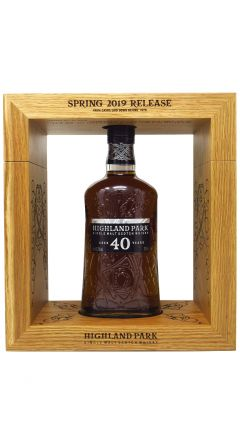 Highland Park - Single Malt Scotch - Spring 2019 40 year old Whisky