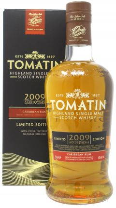 Tomatin - Carribean Rum Finish - Limited Edition - 2009 10 year old Whisky