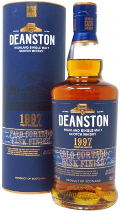 Deanston - Palo Cortado Cask Finish - 1997 21 year old Whisky