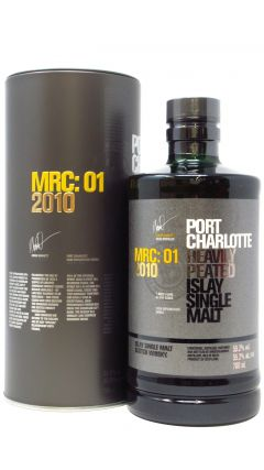 Port Charlotte - MRC: 01 Heavily Peated  - 2010 7 year old Whisky