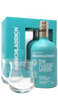 Bruichladdich - Classic Laddie with 2 x Glasses Gift Pack Whisky