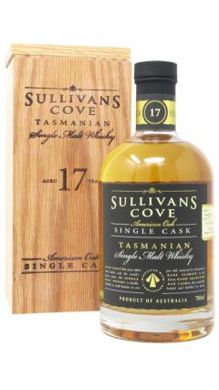 Sullivans Cove - American Oak Single Cask  HH0317 - 2000 17 year old Whisky