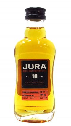 Jura - Single Malt Scotch Miniature 10 year old Whisky