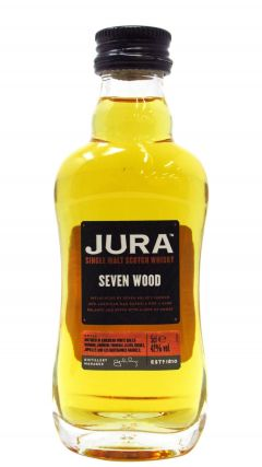 Jura - Seven Wood Single Malt Scotch Miniature Whisky