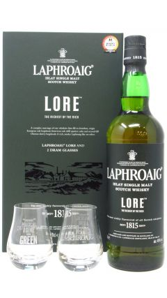 Laphroaig - Lore & Glasses Gift Pack Whisky