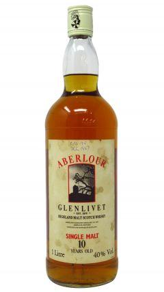 Aberlour - Glenlivet Highland Malt Scotch (1 Litre) (old bottling) 10 year old Whisky