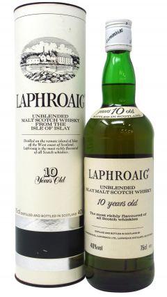 Laphroaig - Pre-Royal Warrant Malt Scotch 10 year old Whisky