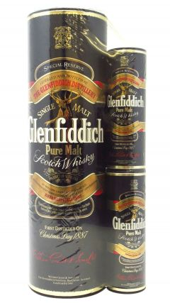 Glenfiddich - Special Reserve With 2 x 5cl Miniatures Blister Pack Whisky