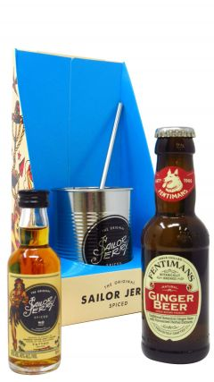 Rum - Sailor Jerry Spiced Rum & Ginger Beer Gift Set Whisky