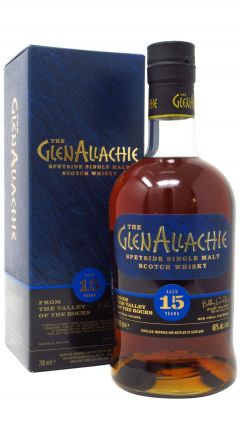 GlenAllachie - Speyside Single Malt 15 year old Whisky