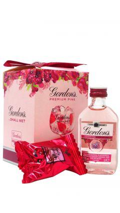 Gordons - Premium Pink + Truffles Gift Set (Hard To Find Edition) Gin