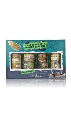 That Boutique-y Whisky Company - World Whisky 4 x Miniature Gift Set Whisky