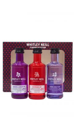 Gin - Whitley Neil 3 x 5cl Flavoured Gin Gift Set (Hard To Find Edition) Whisky