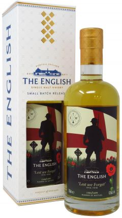 The English Whisky Co. - Lest We Forget 1914 - 1918 Whisky