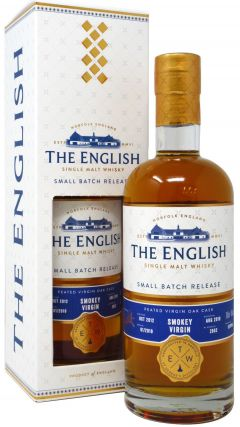 The English Whisky Co. - Peated Virgin Oak Batch #1 - 2012 6 year old Whisky