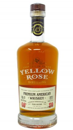 Yellow Rose - White Label Premium Blended American Whiskey