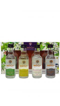 J.J Whitley - 4 x 5cl Miniatures Flavoured Vodka & Gin Gift Pack Vodka
