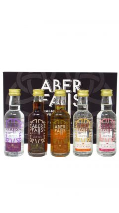 Aber Falls - 5 x 5cl Flavoured Welsh Gin & Liqueur Gift Set Gin