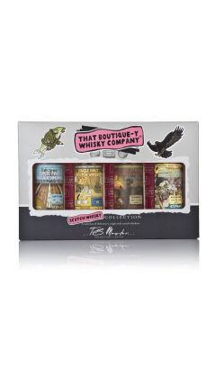 That Boutique-y Whisky Company - Scotch Whisky 4 x Miniature Gift Set Whisky