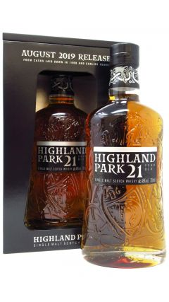 Highland Park - August 2019 Release 21 year old Whisky