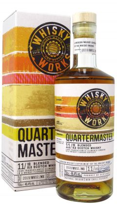 Whisky Works - Quarter Master - Blended Scotch 11 year old Whisky