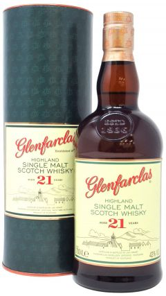 Glenfarclas - Highland Single Malt 21 year old Whisky
