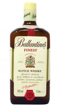Ballantines - Finest Scotch (old bottling 1 Litre) Whisky
