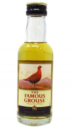 Famous Grouse - Blended Scotch Miniature Whisky