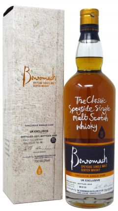 Benromach - Single Cask #11 - UK Exclusive - 2011 8 year old Whisky