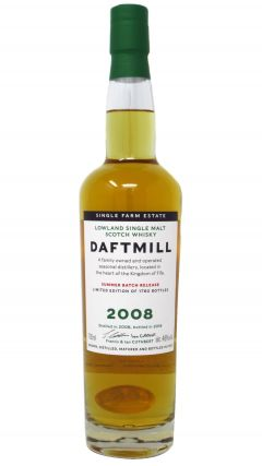Daftmill - Summer Batch Release 2019 - 2008 10 year old Whisky