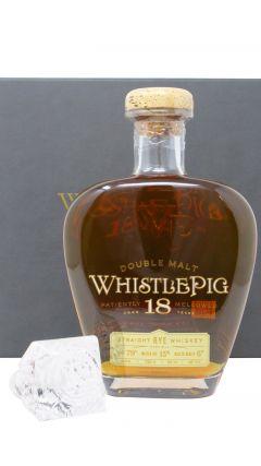 WhistlePig - Double Malt Rye Whiskey 18 year old Whiskey