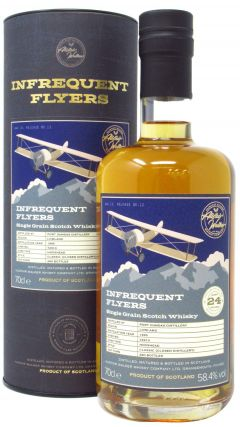 Port Dundas (silent) - Infrequent Flyers Single Cask #72910 - 1995 24 year old Whisky
