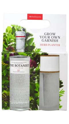 Gin - The Botanist With Free Glass Herb Planter Gin